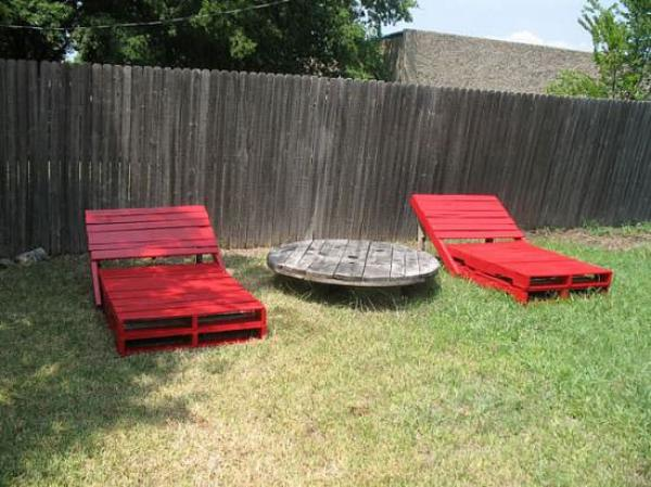 DIY Red Chair