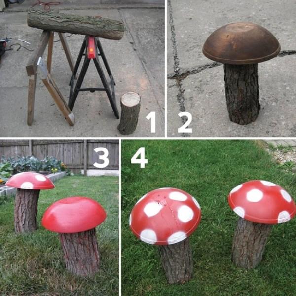 DIY Mushroom