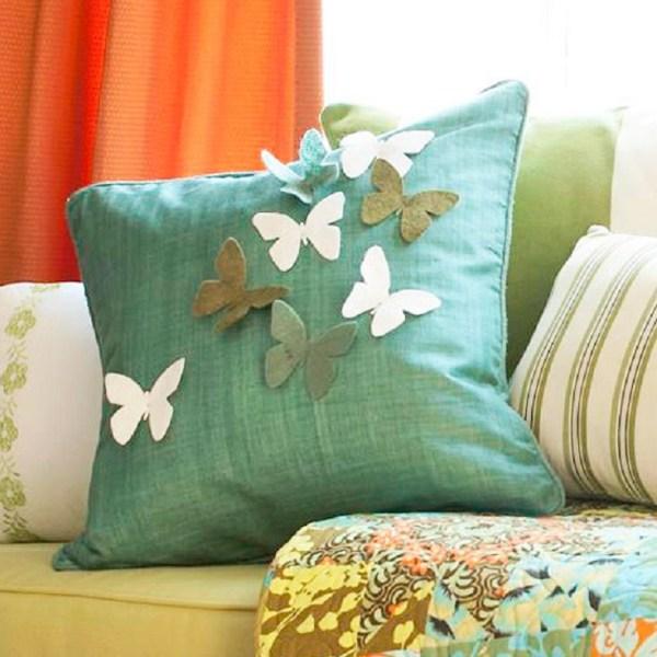 DIY Butterfly Pillow