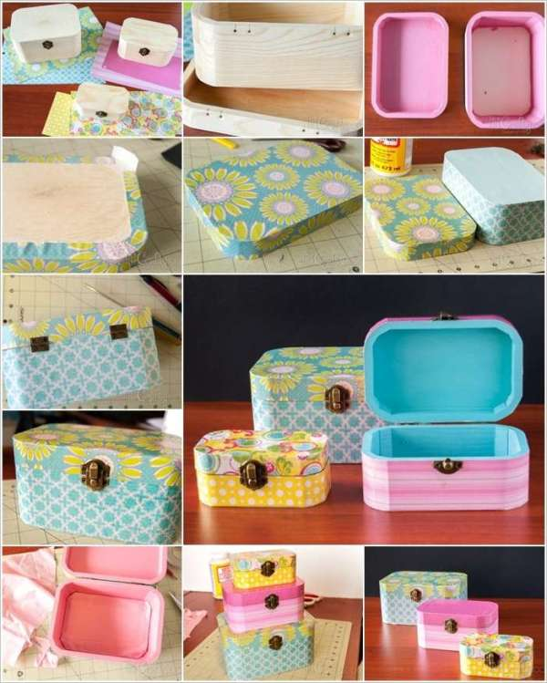 DIY Creative Girly Box