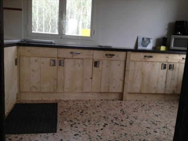 DIY Wooden Kitchen