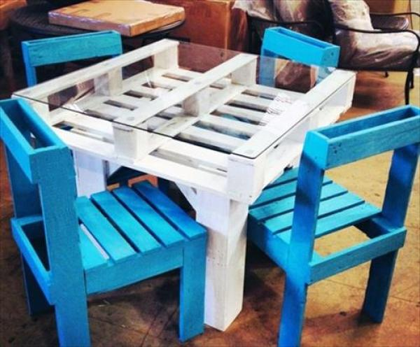 DIY White Dining Table