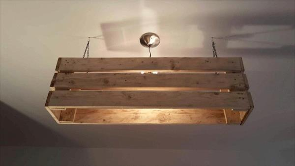 DIY Pallet Lamp Ideas