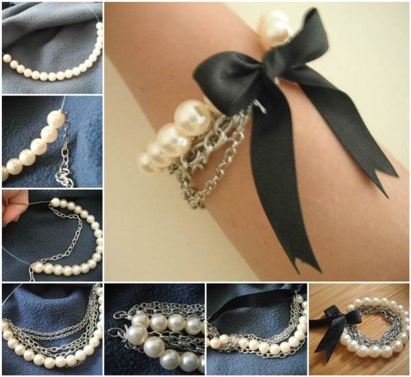 DIY Jewerly with Pearls