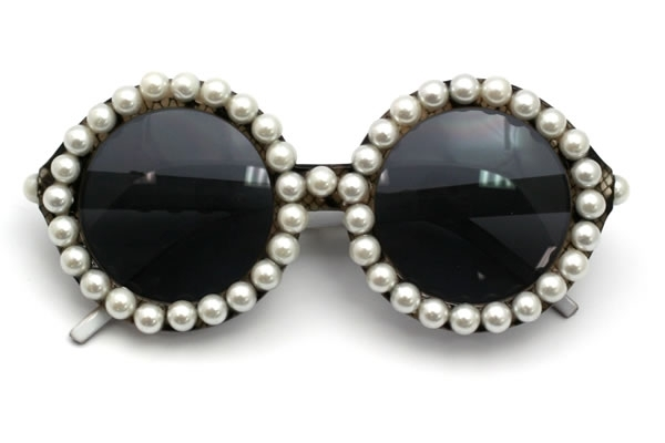 DIY Sunglasses Pearls Ideas