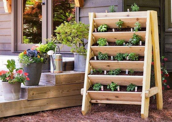 DIY Wooden Pallet Planters