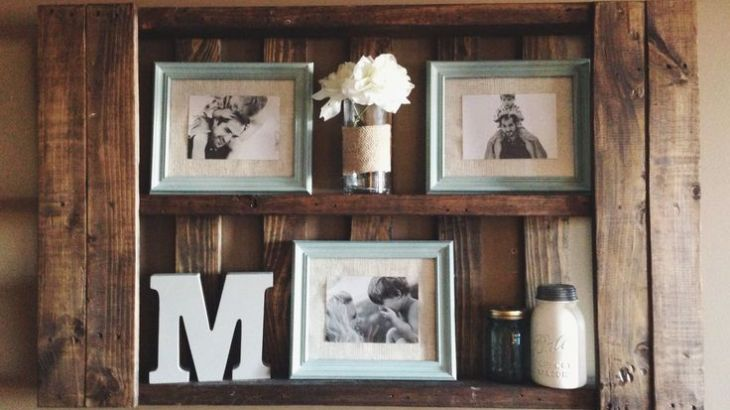 DIY Shelves Family Memories
