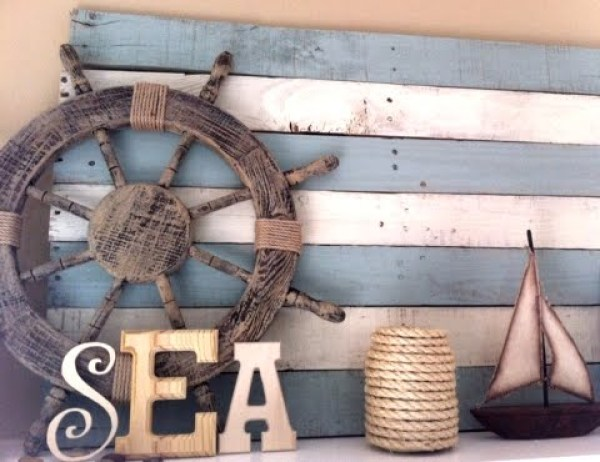 DIY Sea Pallet Idea