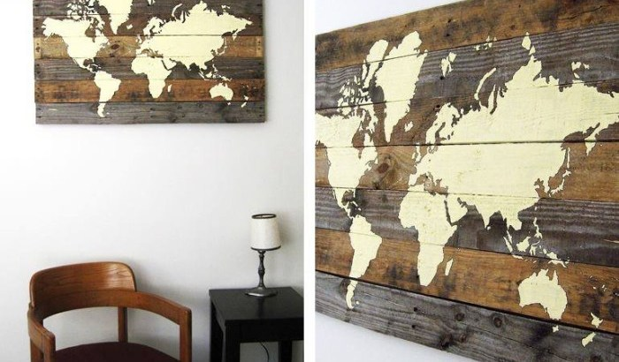 DIY Wooden Earth Project