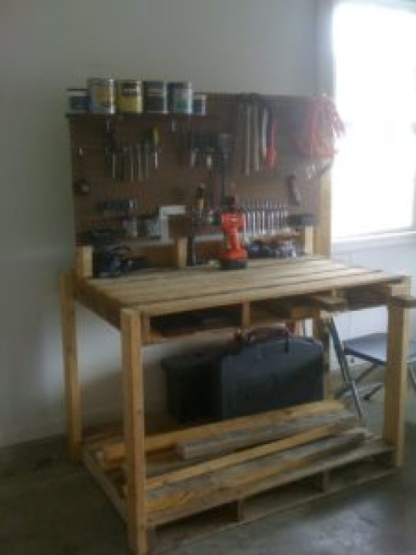 DIY Garage Tools Organize