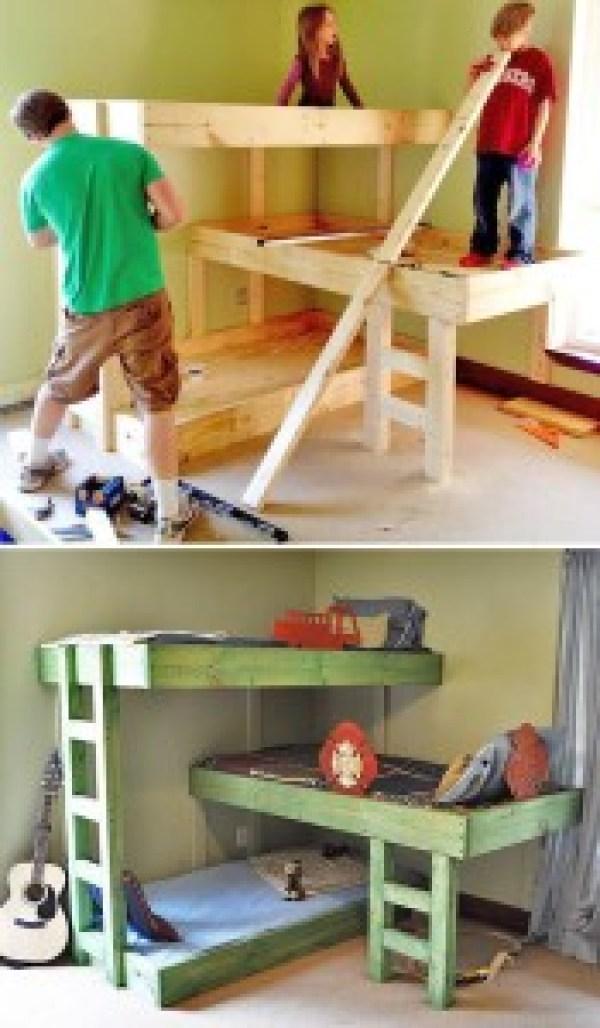 DIY Pallet Bed