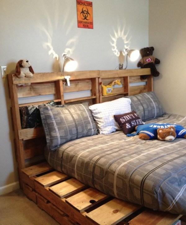 DIY Bed Decor