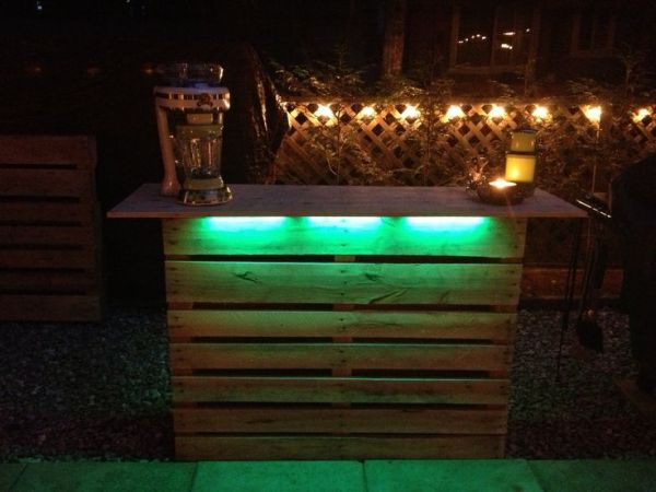 do it yourself Night Pallet Bar