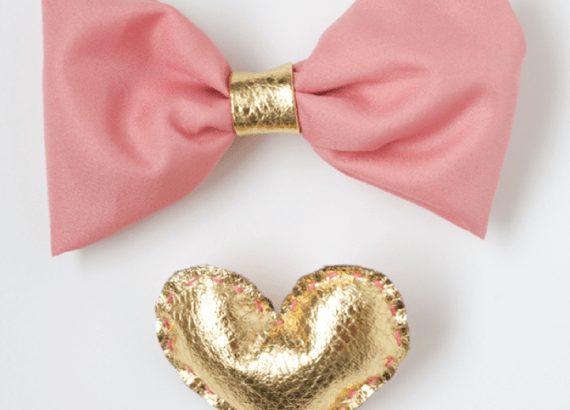 DIY Pink Girly Bow