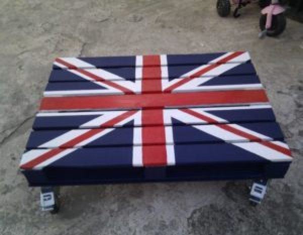 British Pallet Table designs