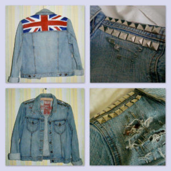 Denim British Jacket