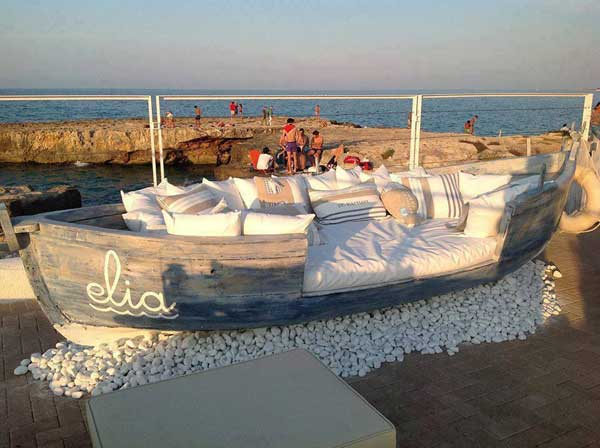 DIy Romantic Old Boat