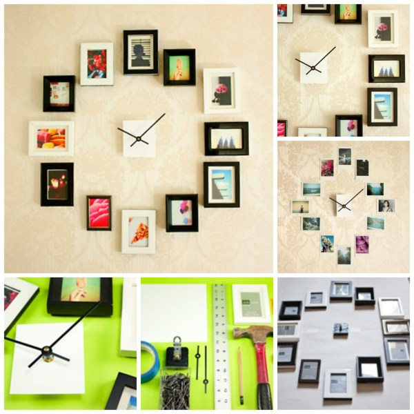 DIY Photos Clock