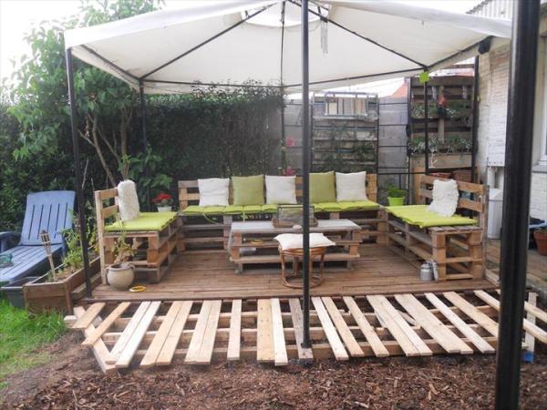 DIY Pallet deck project