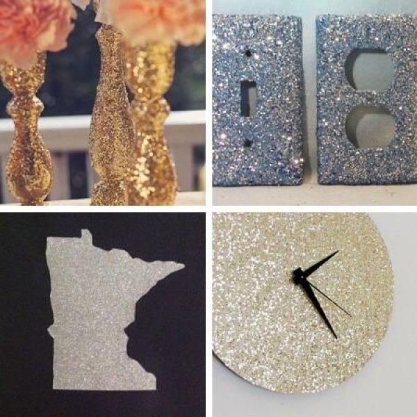 DIY Glitter Creative Ideas