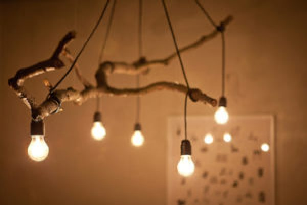 how to make a tree lamp