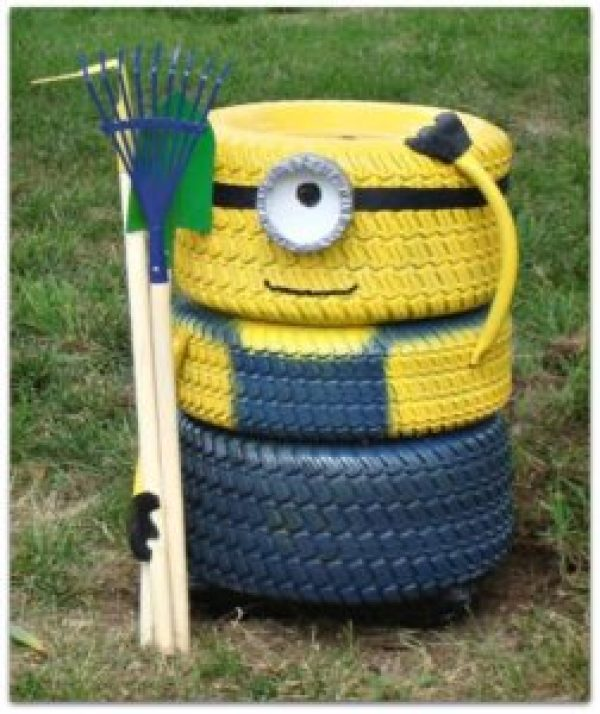 DIY Minion Tire