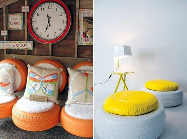 DIY Tires with Pillows