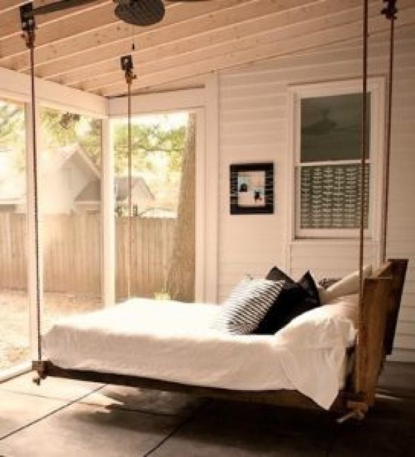 how to make Comfortable Hanging Bed