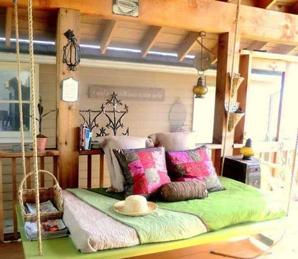 DIY Cozy Hanging Bed