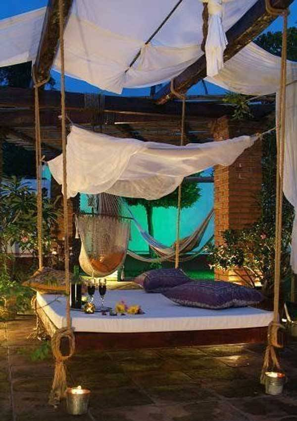 awesome pallet swing bed ideas