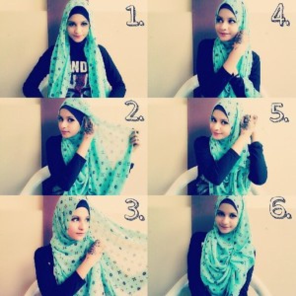 DIY Tutorial Hijab