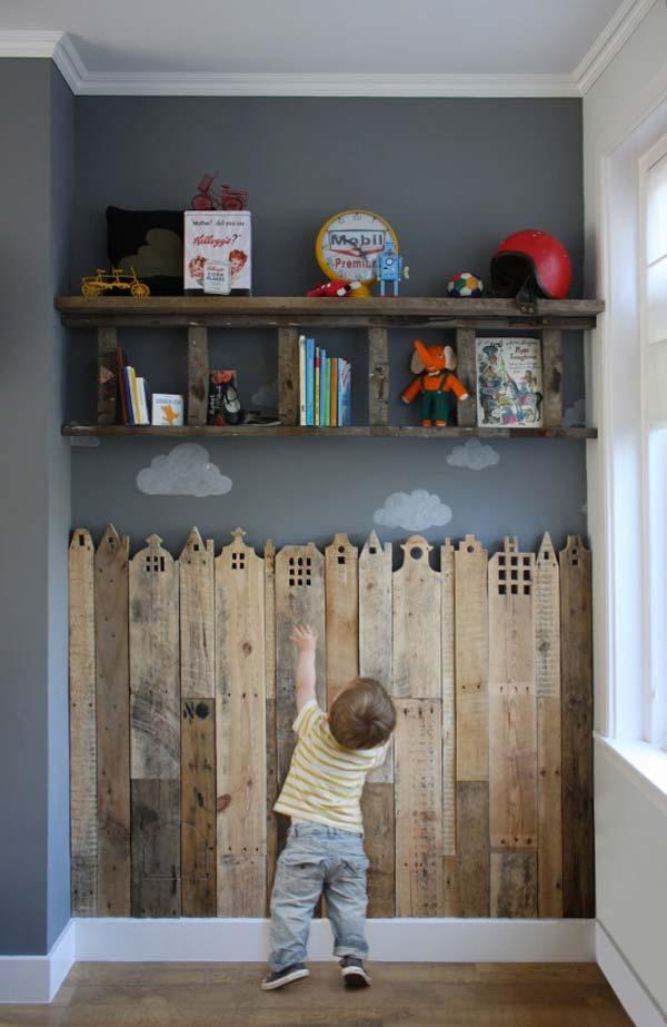 DIY Kids room Pallet Design