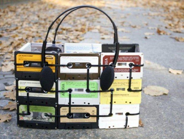 DIY Cassettes Art