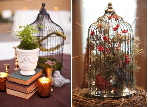 DIY Flowers Cage
