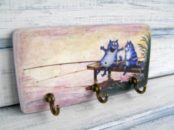DIY Painted Design For Keys