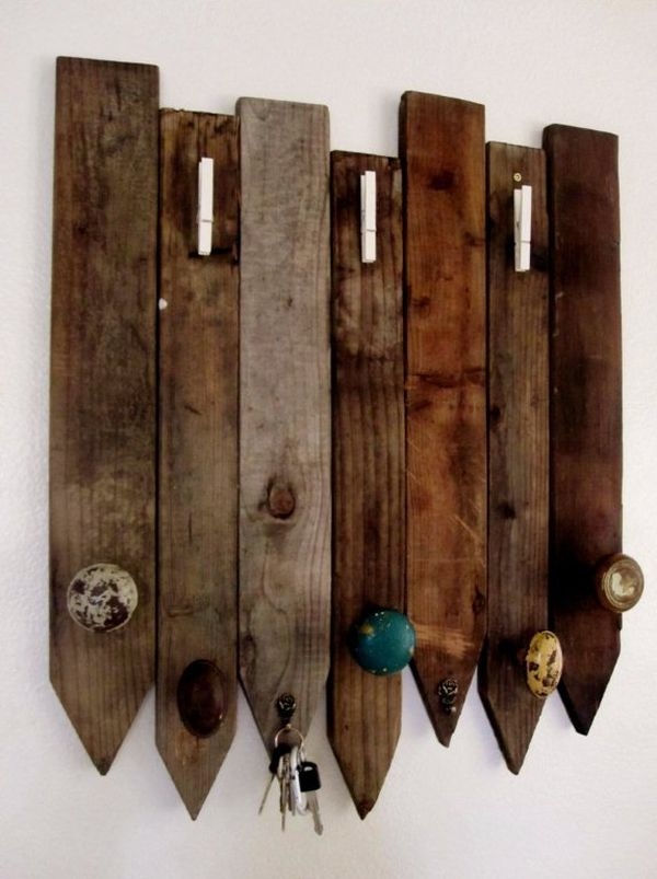 DIY Wooden Key Holder