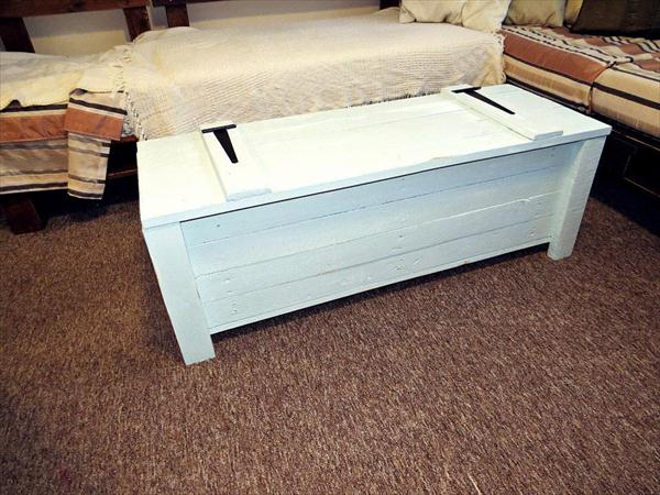 DIY White Chest