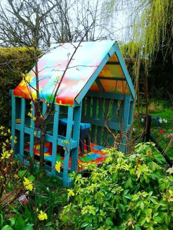 DIY Colorful House