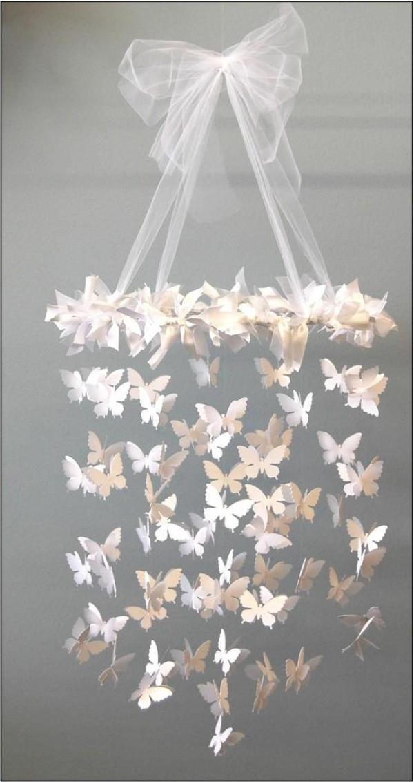 DIY Butterfly Light Design