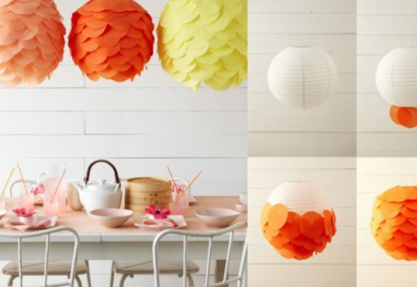 DIY Orange-Yellow Light