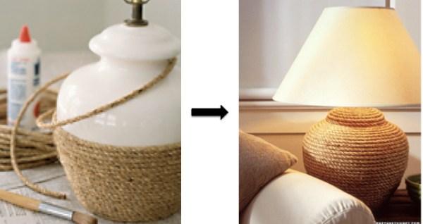 DIY Mediterranean Lamps