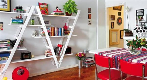 DIY Old wooden Storage shelves