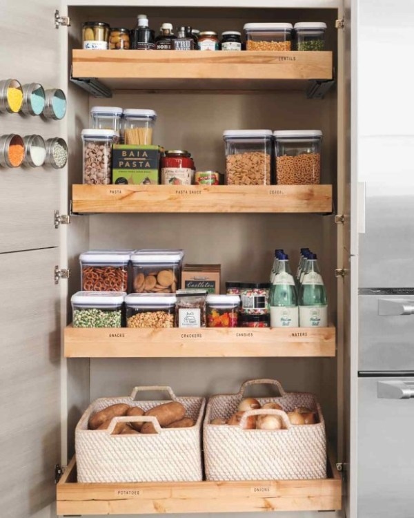 DIY Kithen Storage