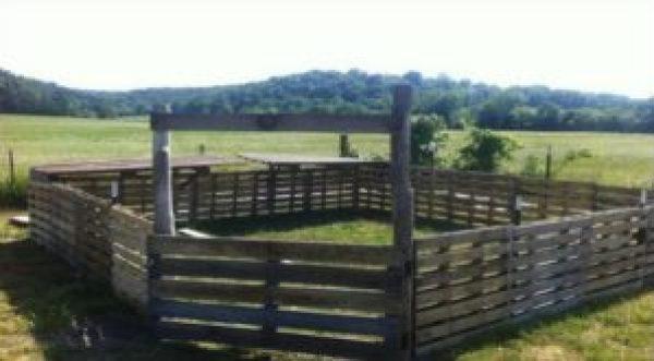 DIYPallet Wooden Fence