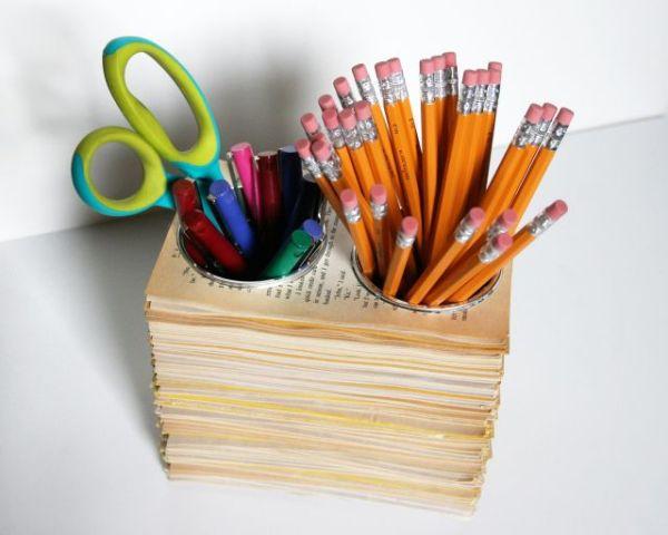 DIY Pencil Storage