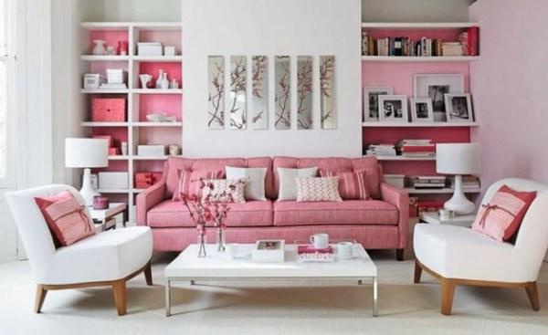 DIY Pink Modern Room