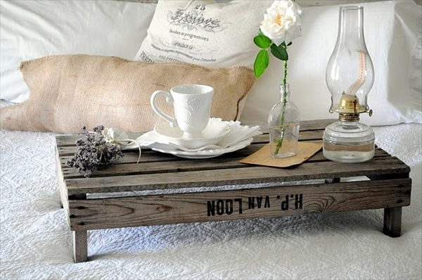DIY Wooden Tray Art