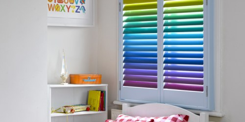 DIY Rainbow Window