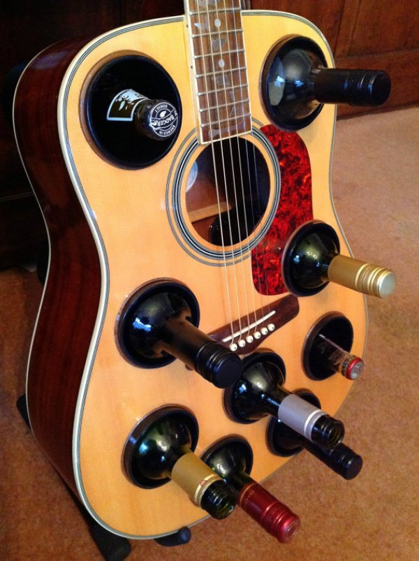 DIY guitar storage ideas