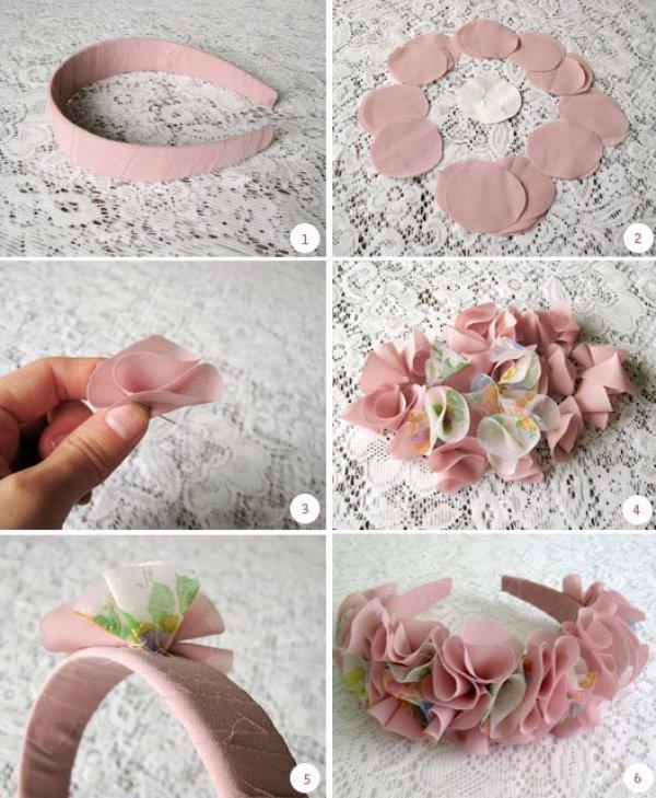 DIY Romantic Headband